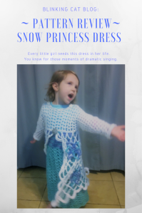 Pattern Review - Snow Princess Dress