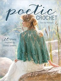 poetic crochet book cover