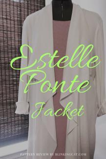 Estelle Ponte Jacket